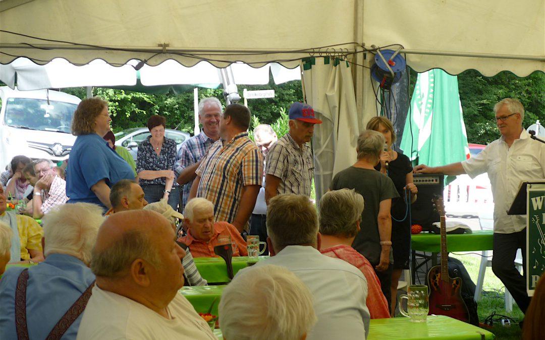 Traditionelles Sommerfest im Haus Martin